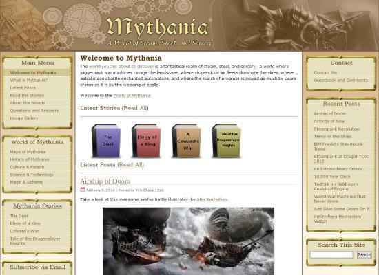 mythania-site