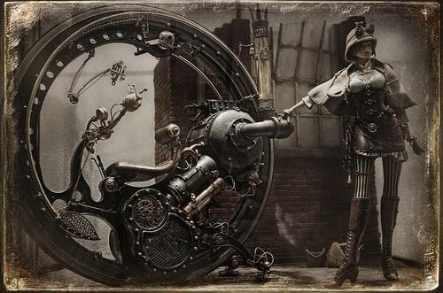 Steampunk Monowheel